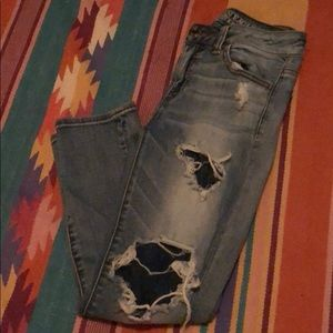 American Eagle Outfitters Hi-Rise Crop Jegging